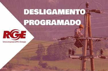 RGE informa desligamento de energia elétrica em Taquara