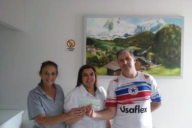 Sociedade Italiana Buona Gente doa R$ 6.500 aos hospitais da região