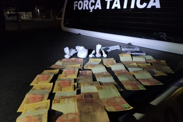 Brigada Militar realiza duas prisões por tráfico de drogas na região