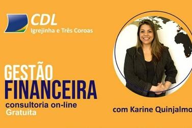 CDL oferece consultoria online e gratuita sobre gestão financeira