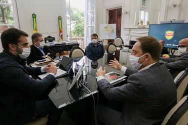 Governador recebe sugestões da FGF e promete analisar política para o futebol