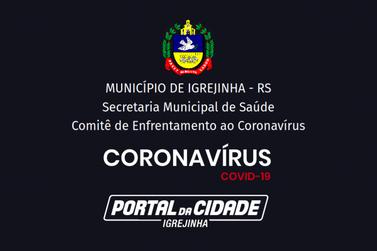 Igrejinha registra dois casos positivos para Coronavírus