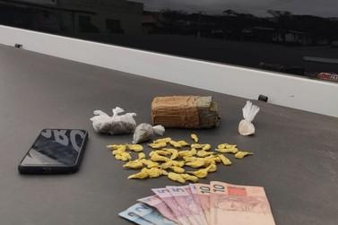 Brigada Militar prende traficante com crack e maconha em Igrejinha