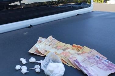 Brigada Militar realiza duas prisões por tráfico de drogas em Igrejinha