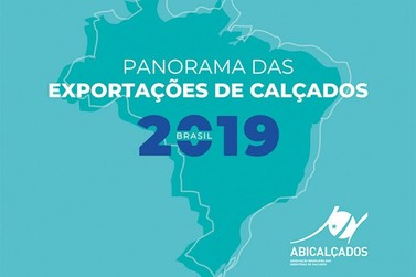 Exportações de calçados cresceram 7,5% em reais, em 2019
