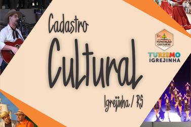 Igrejinha inicia Cadastro Cultural de Artistas e Promotores de Cultura