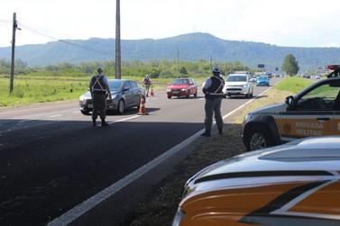 PRE recaptura foragido da justiça em veículo com placas de Sapiranga na ERS-240