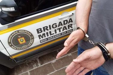 Brigada Militar de Igrejinha prende autor de arrombamento e furto em residência