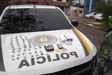 Brigada Militar prende traficante em Três Coroas