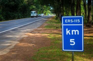 Guto Scherer cobra realização de acesso mais seguro na ERS-115 em Igrejinha