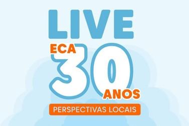 ONG Vida Breve promove Live em comemoração aos 30 anos do ECA