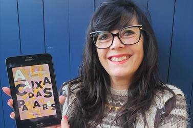 """Roseli Santos lança versão digital do livro """"A Caixa das Palavras"""""""