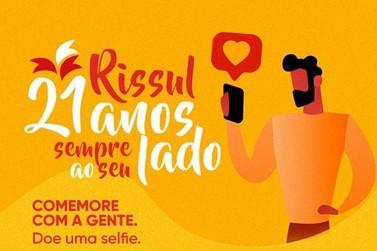Supper Rissul comemora 21 anos em ação social com a Rede de Bancos de Alimentos