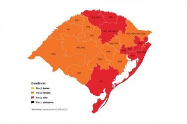Com recurso indeferido, Vale do Paranhana segue em bandeira vermelha