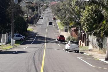 Prefeitura de Igrejinha entrega recapeamento asfáltico da Rua Dona Lídia