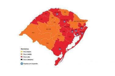 Vale do Paranhana permanece na bandeira vermelha do Distanciamento Controlado