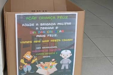 BM de Igrejinha inicia arrecadação de brinquedos para o Dia das Crianças
