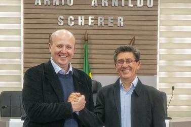 Convenção confirma Guto Scherer e Darcy Matte como pré-candidatos em Igrejinha