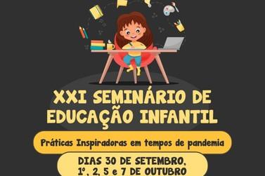 Seminário de Educação Infantil da Faccat começa nesta quarta-feira (30)