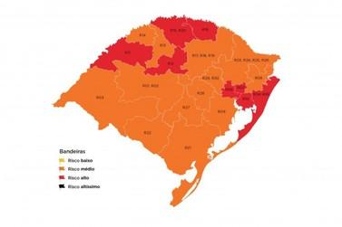 Vale do Paranhana fica na bandeira laranja do Distanciamento Controlado