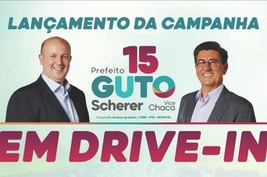 Lançamento da campanha de Guto Scherer e Darcy Matte é adiado e tem nova data