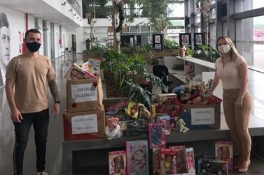 Bischoff Group doa brinquedos à Secretaria de Educação para alunos do CEMAE