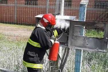 Bombeiros de Igrejinha combatem princípio de incêndio no Distrito Industrial