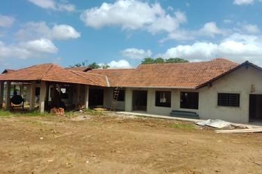 Nova escola de educação infantil está sendo construída ao lado do Erna Grings