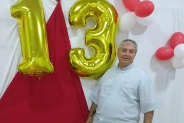Padre Monteiro, pároco de Igrejinha, comemora 13 anos de ordenação sacerdotal