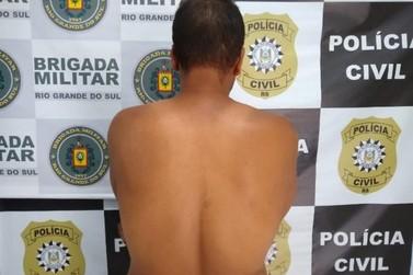 Vídeo: Foragido condenado por transporte de entorpecentes é preso em Três Coroas