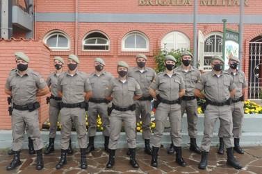 1º BPAT recebe 14 novos policiais militares; BM de Igrejinha terá mais 1 efetivo
