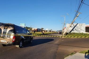 Carro fúnebre de Igrejinha se envolve em acidente com morte na ERS-239