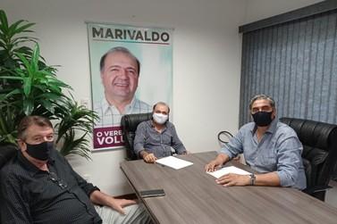 Em visita a Igrejinha, deputado federal garante emenda para Unidade de Saúde