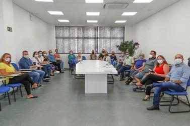 Secretários da região se reúnem em Igrejinha e organizam campanha contra Covid