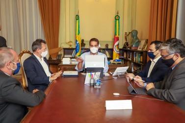 Em reunião com o Governo, Dalciso Oliveira trata da nova sistemática tributária
