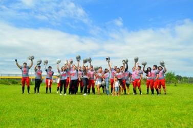 Seletiva para recrutamento de atletas de futebol americano acontece em Igrejinha