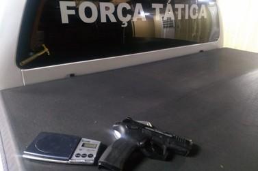 Brigada Militar apreende menor com simulacro e balanças de precisão em Igrejinha