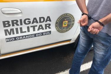 Brigada Militar prende foragido do sistema prisional em Igrejinha