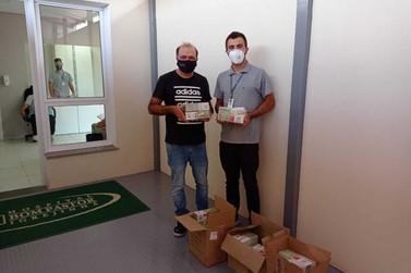 Hospital Bom Pastor recebe doação de 3,5 mil pares de luvas cirúrgicas