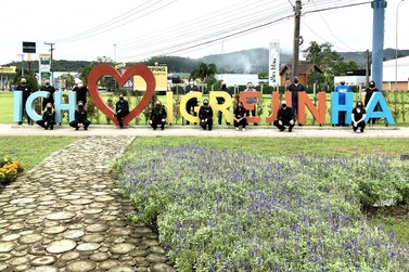 """Igrejinhenses realizaram ação componente do movimento o """"Turismo não é o Vilão"""""""