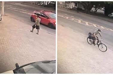 Ladrão furta bicicleta em mercado, em plena luz do dia, em Igrejinha; assista