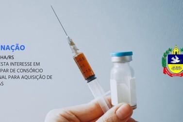 Município de Igrejinha formaliza interesse em consórcio para adquirir vacinas