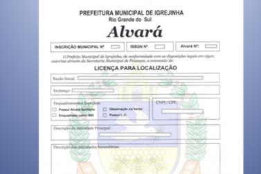 Vereadores aprovam indicação sobre isenção de taxas de alvará em Igrejinha