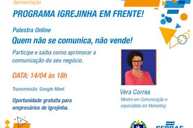 """Em parceria com o Sebrae, Município lança o """"Programa Igrejinha em Frente"""""""