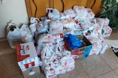 ACMC de Igrejinha arrecada 400kg em doações para o Instituto Santíssima Trindade