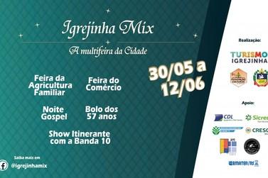 Comemorando o aniversário da cidade, Igrejinha Mix 2021 ocorrerá em novo formato