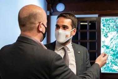 Guto Scherer pede ao governador medidas para o desenvolvimento do Paranhana
