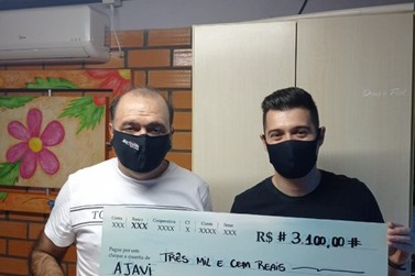 Marivaldo Leal doa salário para campanha Corrente de Solidariedade por Igrejinha