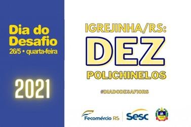 Município de Igrejinha participará do Dia do Desafio 2021 promovido pelo SESC