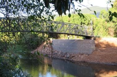 Obras de contenção em passarelas de Igrejinha são concluídas